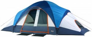 Mountain Trails Grand Pass 18- by 10-Foot, 2-Room 9 to 10-Person Family Dome Tent