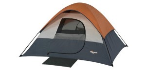 Mountain Trails Twin Peaks 7- by 7-Foot, 3 to 4-Person Sport Dome Tent