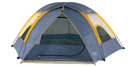 Wenzel Alpine 8.5 X 8-Feet Dome Tent (Light Grey,Blue,Gold)