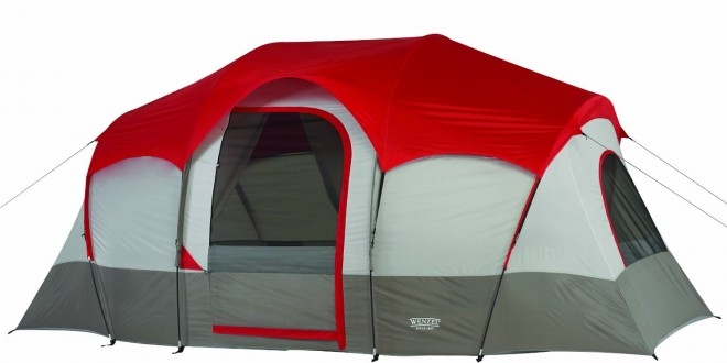 Wenzel Blue Ridge 14x9 Feet 2 Room Seven Person Tent  sc 1 st  HikingValley.com & 10 best backpacking tents for hiking and camping under $200 ...