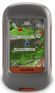 Garmin Dakota 20 Waterproof Hiking GPS - mountain hikes