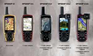 Garmin GPSMAP 62St Handheld Hiking GPS Navigator - overview hike GPS devices