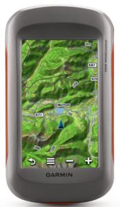 Garmin Montana 650 Waterproof Hiking GPS with 5 Megapixel Camera - mountain information