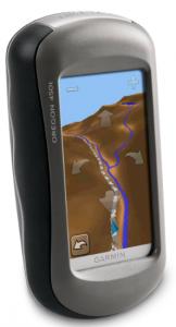 Garmin Oregon 450t Handheld Hiking GPS Navigator - directions information