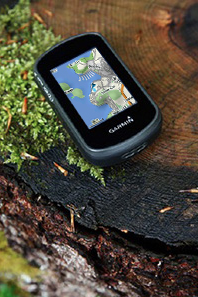 Garmin etrex Touch 25 Hiking GPS - backcountry maps
