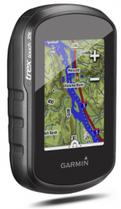 Garmin etrex Touch 35t Hiking GPS with TOPO US 100K - hikes biking road directions