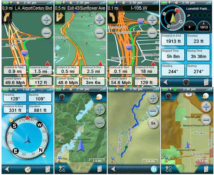 Magellan eXplorist 710 Waterproof Hiking GPS - road backcountry mountain hikes compass