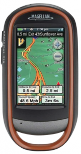 Magellan eXplorist 710 Waterproof Hiking GPS - road directions