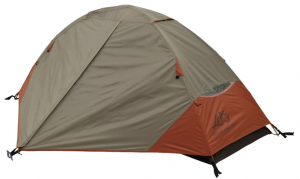 ALPS Mountaineering Lynx 1 Tent 1-Person 3-Season - closed weather protected backpackers tent