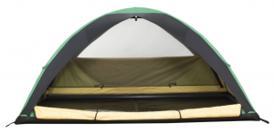 Black Diamond Ahwahnee Tent 2 person 4 season backpackers tent - front open