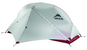MSR Hubba NX 1-Person Tent 3 season backpackers tent