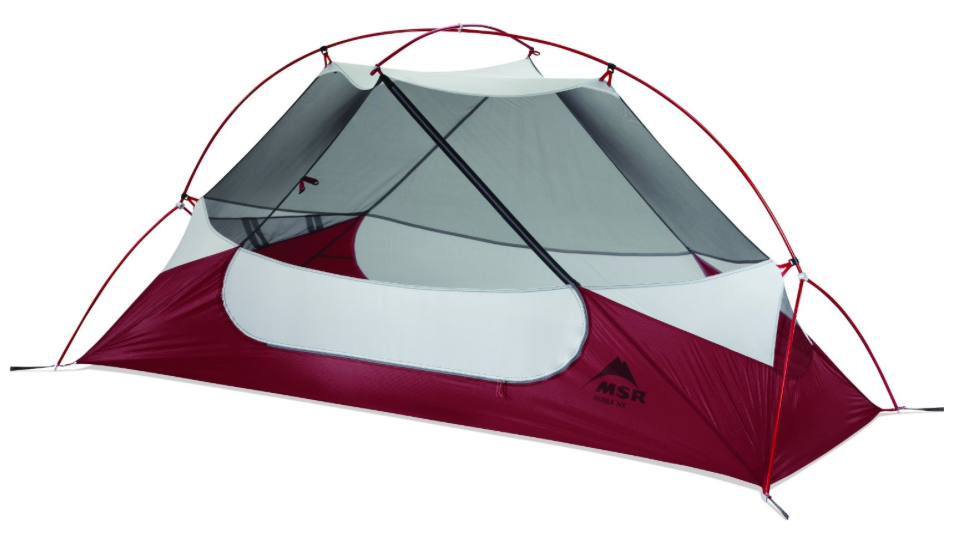 MSR Hubba NX 1-Person Tent 3 season backpackers tent - inner part