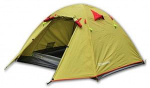Weanas Waterproof Double Layer 2, 3, 4 Person 3 Season Aluminum Rod Double Skylight Outdoor Camping Tent - backpackers tent