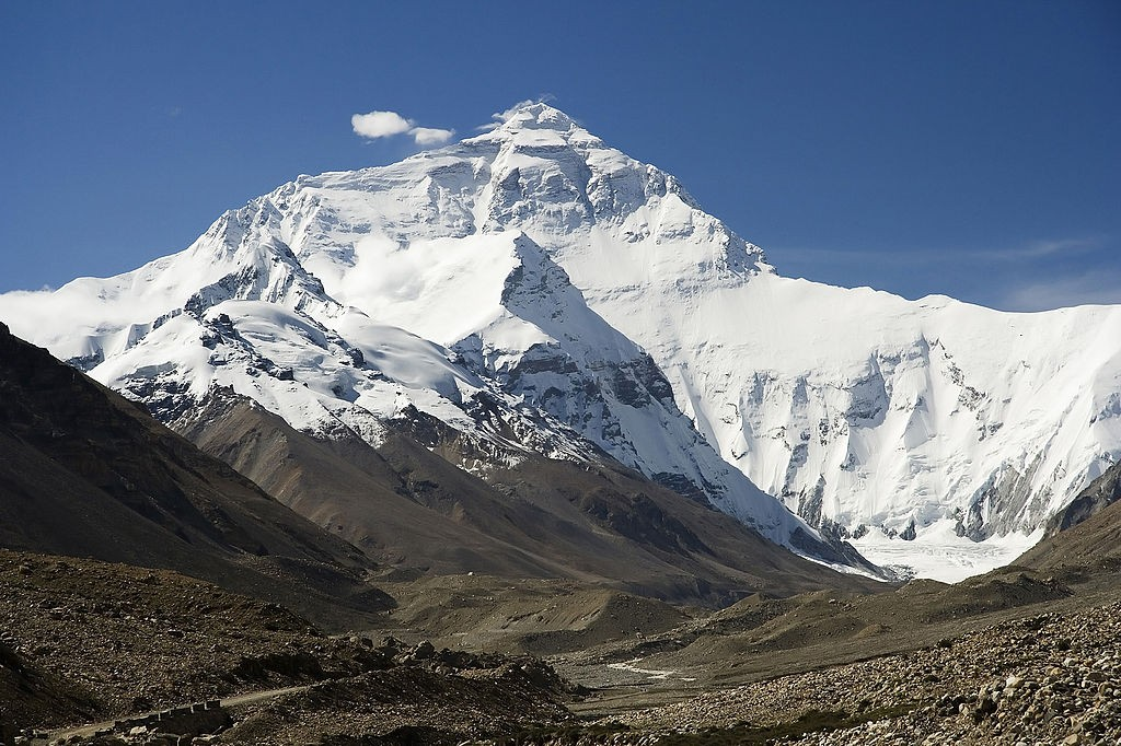 Mount Everest North Face toward Base Camp Tibet