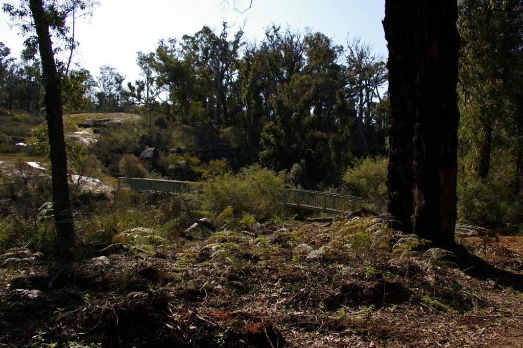 Bibbulmun Trail Track Gnangarra in Western Australia