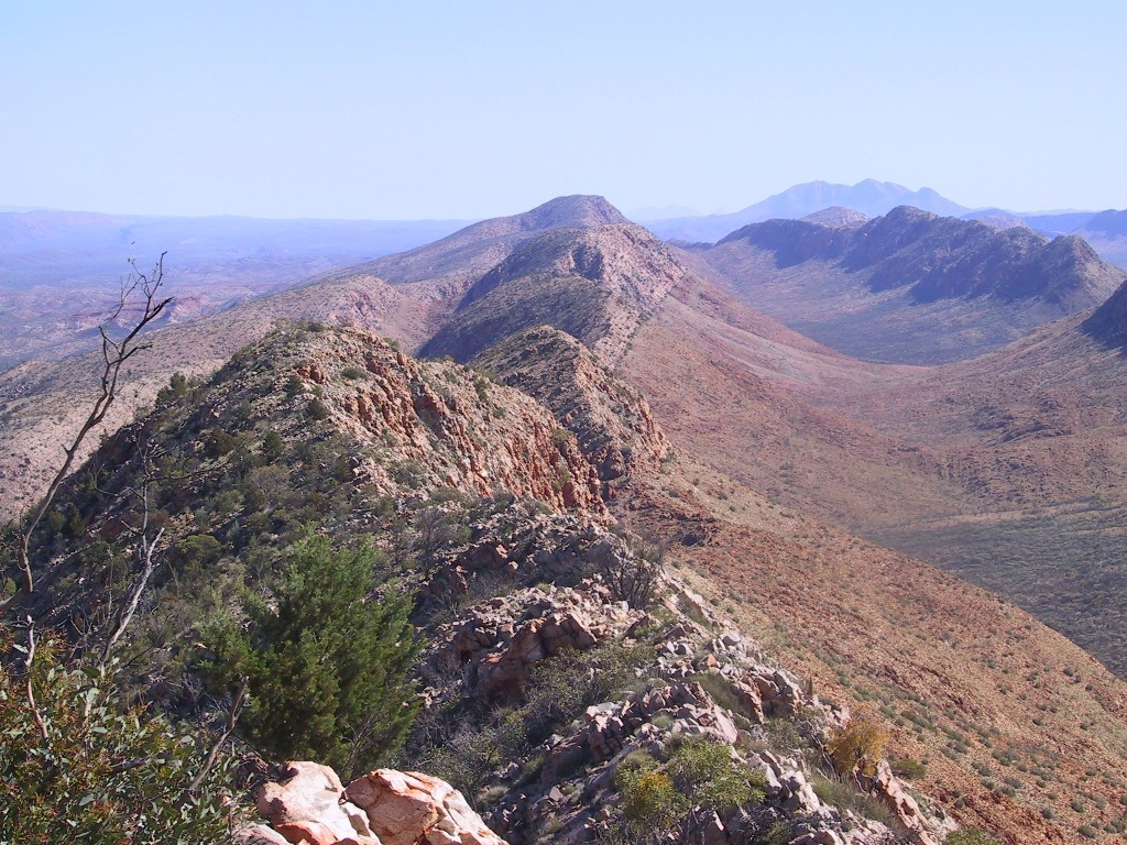 Larapinta Trail West MacDonnell National Park Northern Territory Australia