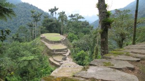 Ruins at Lost City Route Trail Colombia