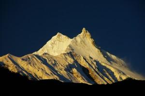 Great Himalaya Trail Nepal Sunrise Manaslu