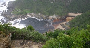 Sea inlet at Otter Trail South Africa