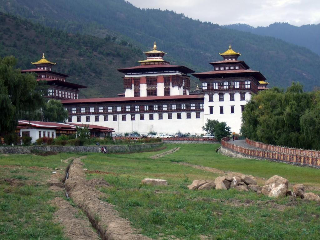 Snowman Trek Thimpu Trashi Chhoe Dzong Bhutan