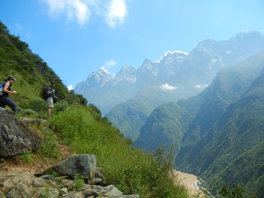 Tiger Leaping Gorge Trail China