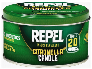 Repel 64090 10-Ounce Citronella Insect Repellent Outdoor Candle Mosquito - Pack of 2