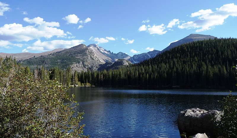 Bear Lake Glacier Gorge Rocky Mountain National Park