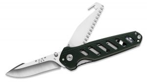 Buck Knives 183 Alpha Crosslock Dual 2 Blade Folding Knife