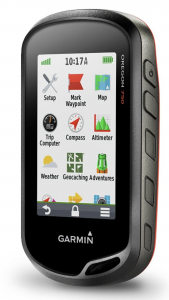 Garmin 750T 3-Inch Touchscreen Handheld Hiking GPS - feature menu