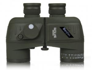 Merytes 10X50 396FT-1000YDS Sports Military Optics Binoculars Telescope Spotting Scope with Compass for Hunting Hiking Traveling Waterproof Shockproof