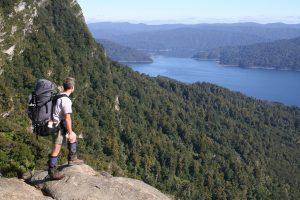 Panekire Bluff - Lake Waikaremoana Great Walk New Zealand