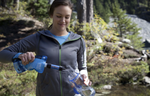 Sawyer Products Mini Water Filtration System - fill your drink bottle