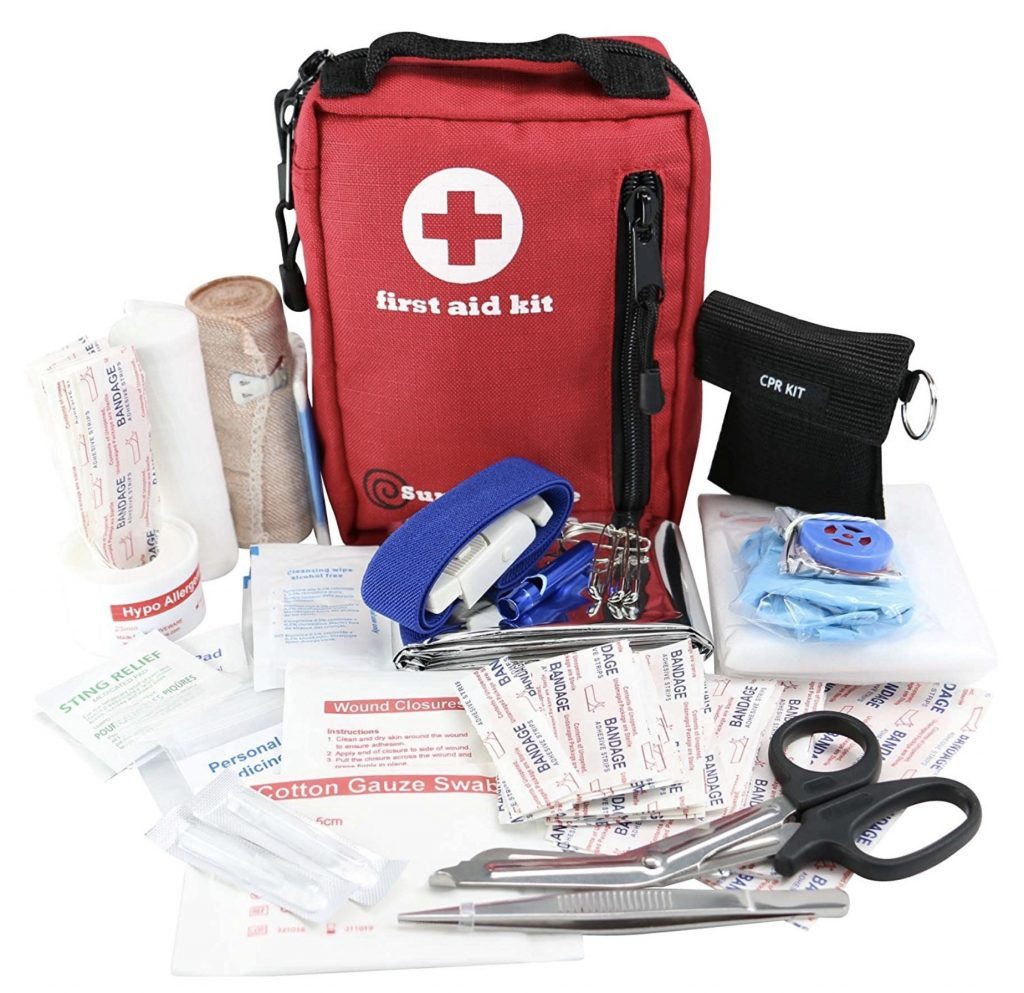 Small First Aid Kit for Backcountry Hiking