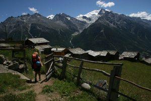 Hiking the Haute Route Switzerland Europe