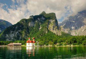 Konigssee Berchtesgaden National Park Germany Europe