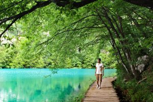 Magical Way Plitvice Lakes National Park Croatia Europe