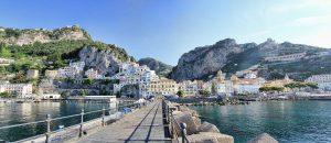 Port of Amalfi Coast Italy Europe