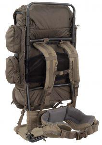 ALPS OutdoorZ Commander External Frame Backpack - back panel