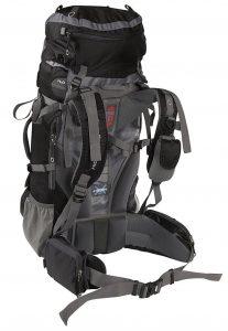 High Sierra Titan 55 Frame Backpack - fit adjustments