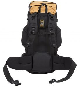 TETON Sports Scout 3400 Internal Frame Backpack - back panel
